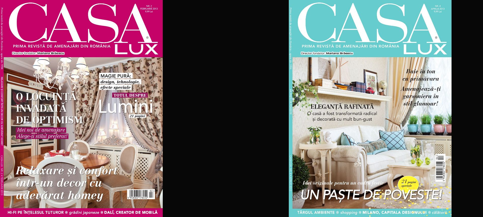 Casa Lux -  2 covers 2013